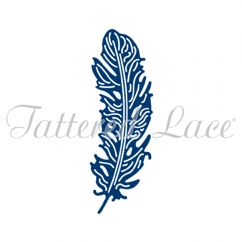 Tattered Lace Die Opulent Feather - D1224